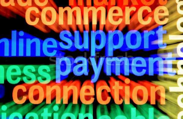 поддержки оплата связи служба деньги клавиатура Сток-фото © alexskopje