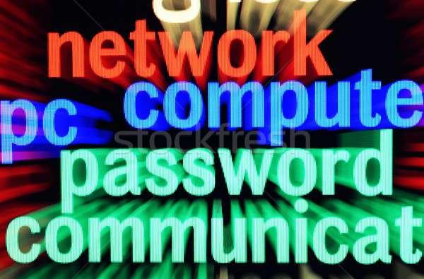 Web concept Stock photo © alexskopje