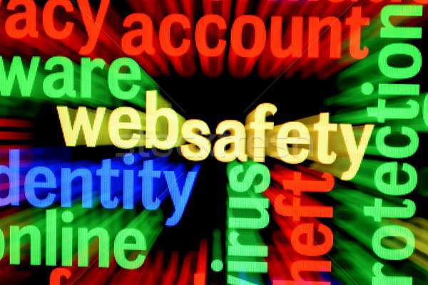 Web safety Stock photo © alexskopje
