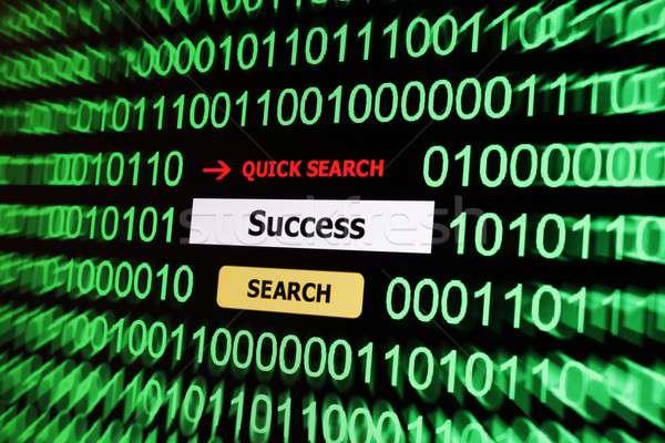 Search for success Stock photo © alexskopje