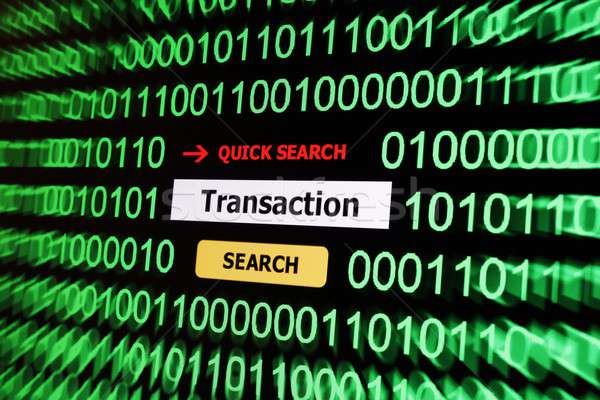 Pesquisar transação computador teia comunicação compras Foto stock © alexskopje