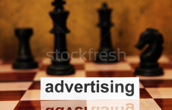 Advertising concept Stock photo © alexskopje