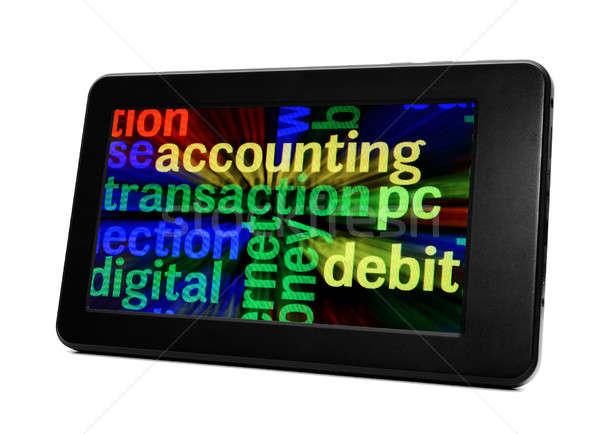 Web transaction Stock photo © alexskopje
