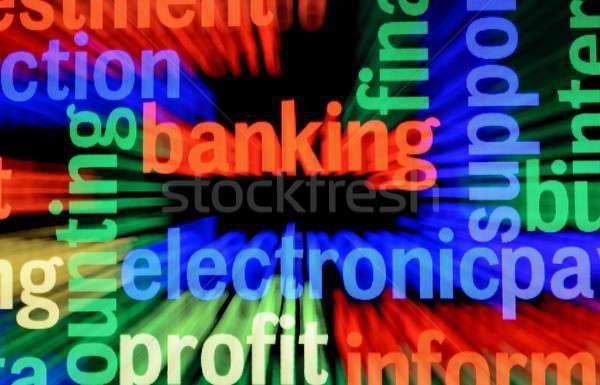Teia bancário negócio computador bar comunicação Foto stock © alexskopje
