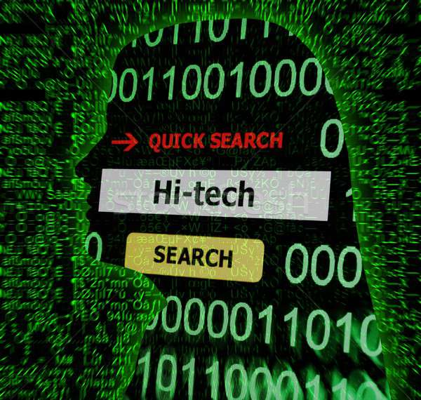 Hi - tech concept Stock photo © alexskopje