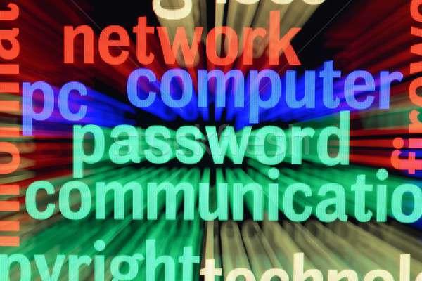 Ağ bilgisayar parola iş teknoloji güvenlik Stok fotoğraf © alexskopje