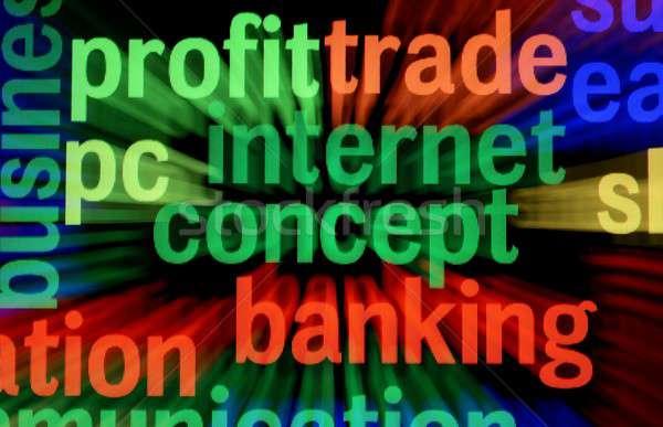Profit trade banking Stock photo © alexskopje