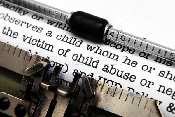 жестокое обращение с ребенком форме детей Новости более насилия Сток-фото © alexskopje