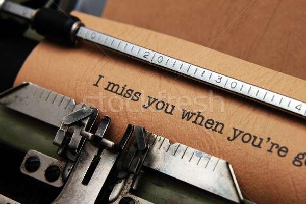 Love letter Stock photo © alexskopje