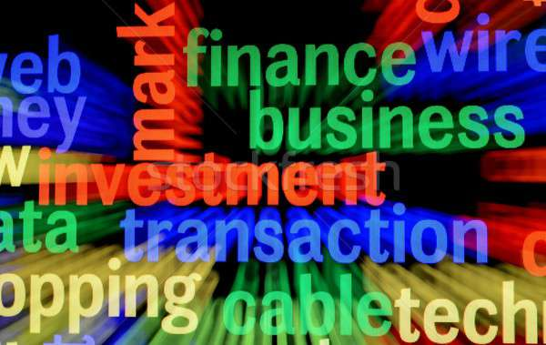FInance business investment Stock photo © alexskopje