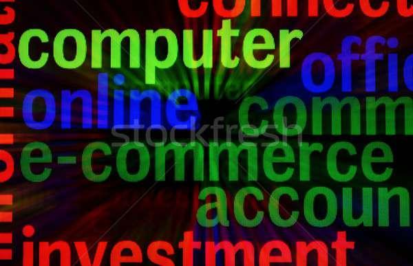 E-commerce Stock photo © alexskopje