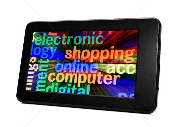 E-shopping Stock photo © alexskopje