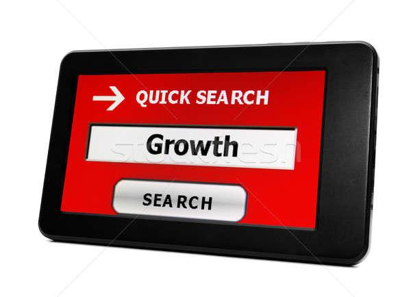Growth search Stock photo © alexskopje