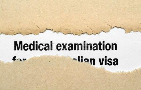 Medical examination Stock photo © alexskopje