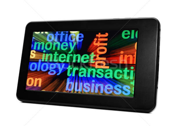 Web business concept Stock photo © alexskopje
