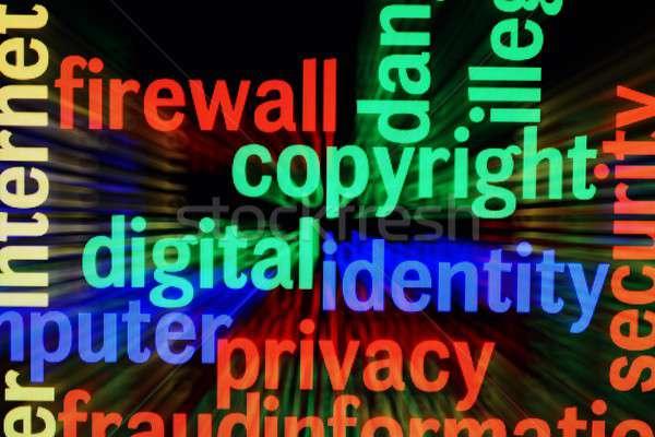 Copyright identity privacy Stock photo © alexskopje