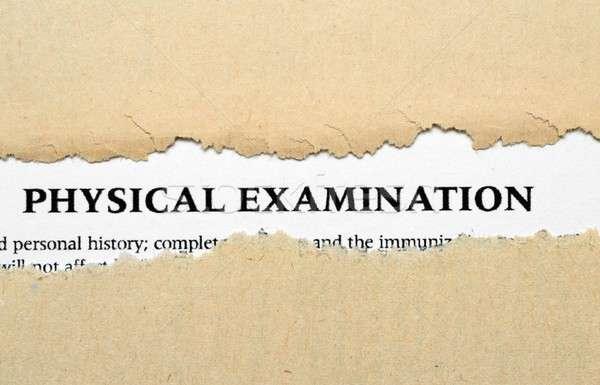 Physical examination Stock photo © alexskopje