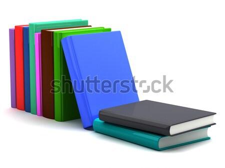 Livros escolas ciência estudar graduação universidade Foto stock © Alexstar