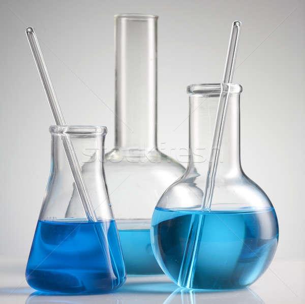 Laboratório artigos de vidro médico lab químico ferramenta Foto stock © Alexstar