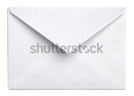 Envelope branco papel e-mail financiar comunicação Foto stock © Alexstar
