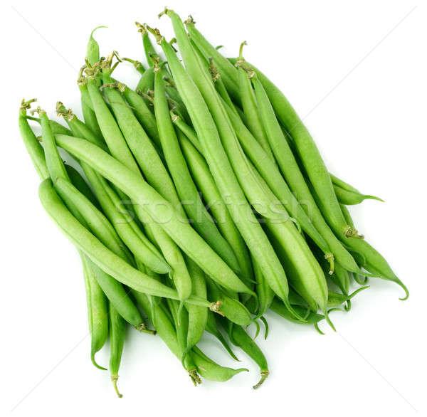 Vagens branco comida natureza alimentação vegetal Foto stock © Alexstar