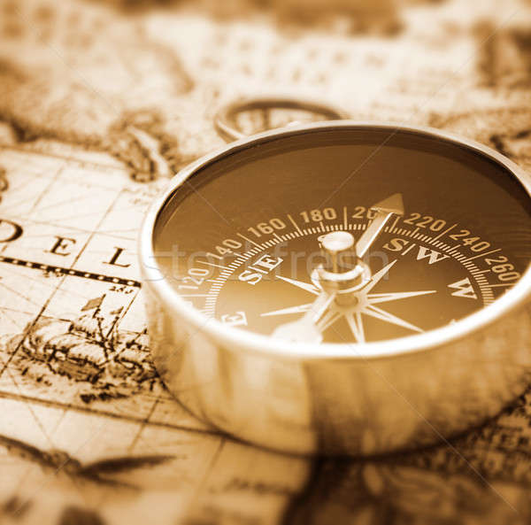 Compass Stock photo © Alexstar
