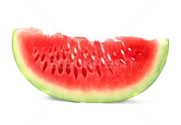Görögdinnye gyümölcs nyár zöld desszert mag Stock fotó © Alexstar