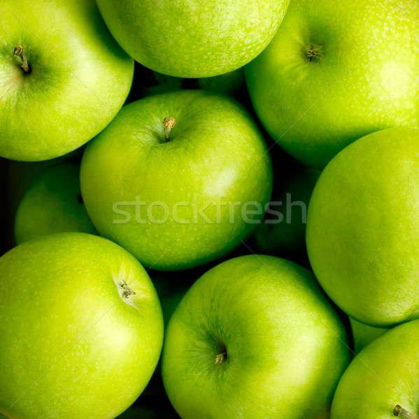 Almák zöld természet alma gyümölcs szín Stock fotó © Alexstar