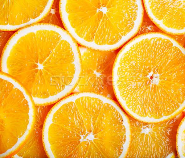 Portakal gıda arka plan yeme tropikal sebze Stok fotoğraf © Alexstar