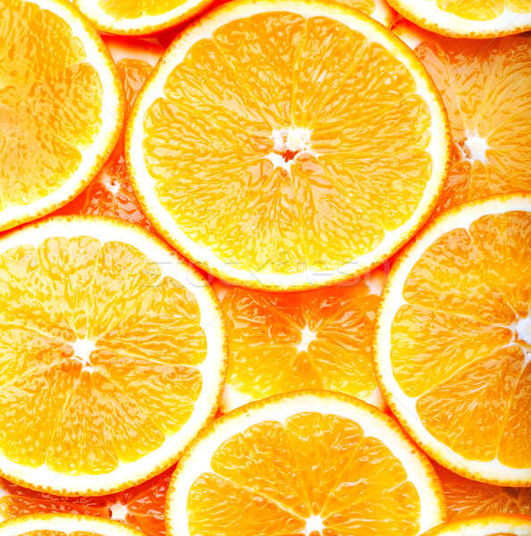Orange alimentaire fond blanche jus sweet Photo stock © Alexstar