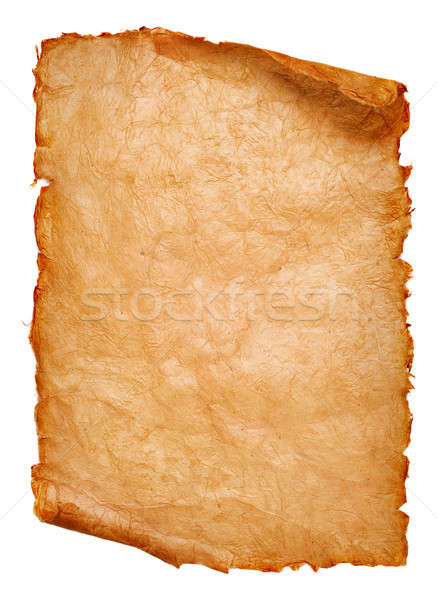 Stock photo: paper scroll