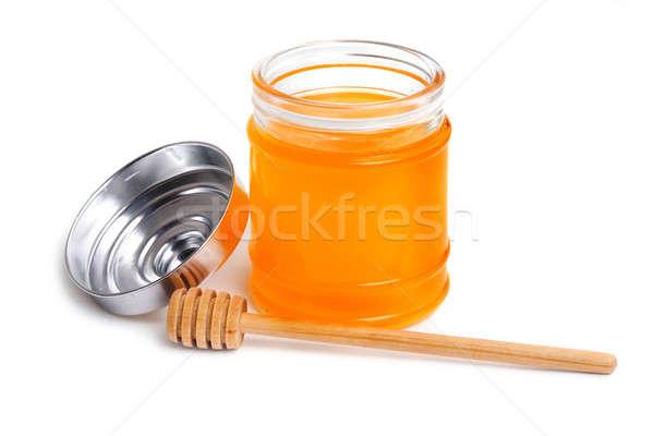 Miere oală alimente natură sănătate culoare Imagine de stoc © Alexstar