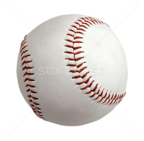 Baseball labda izolált fehér csapat piros Stock fotó © Alexstar