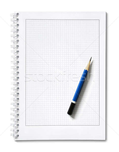 Isolado bloco de notas escritório papel livro caderno Foto stock © Alexstar