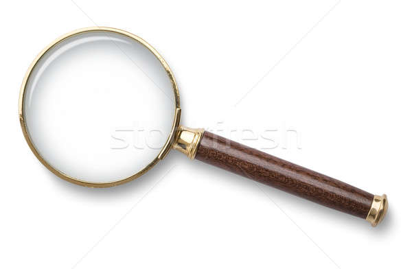 Magnifying glass Stock photo © Alexstar