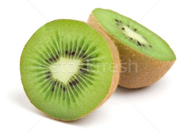 Kiwi branco frutas café da manhã alimentação tropical Foto stock © Alexstar