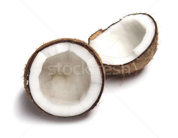 Coco branco comida beber leite objeto Foto stock © Alexstar