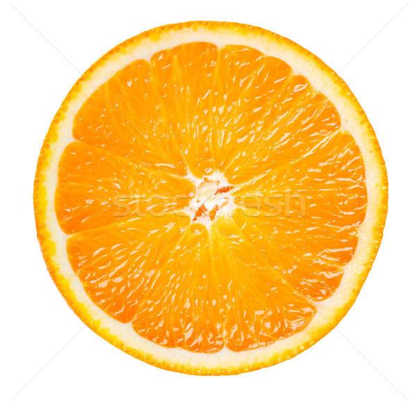 Szelet narancsszelet narancs izolált fehér étel Stock fotó © Alexstar