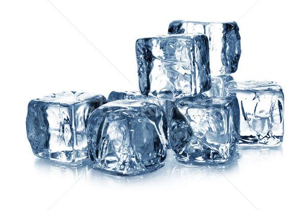 Ice cubes Stock photo © Alexstar