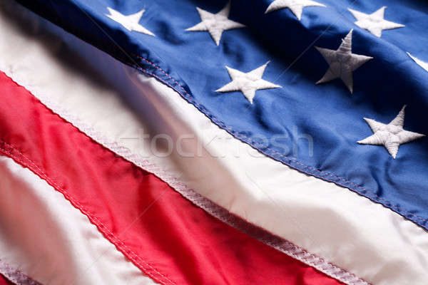 Bandeira americana estrelas bandeira américa EUA governo Foto stock © Alexstar