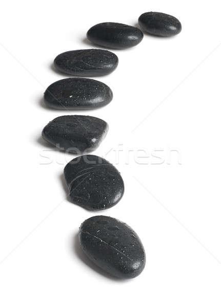 Kő vonal víz háttér csepp Ázsia Stock fotó © Alexstar