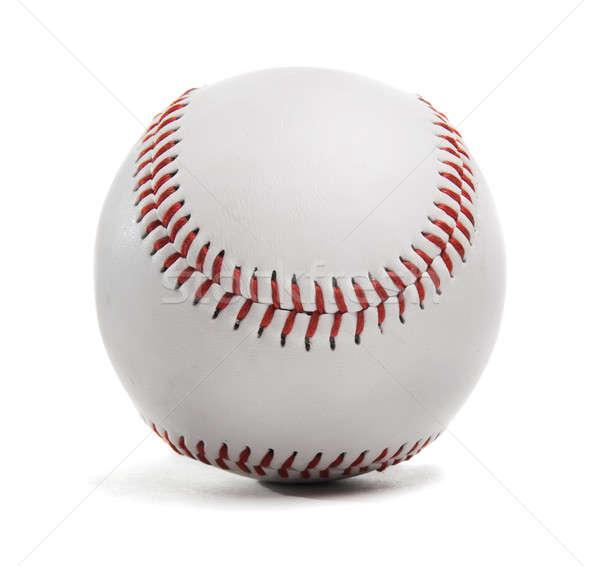Beisebol branco esportes bola jogar jogo Foto stock © Alexstar