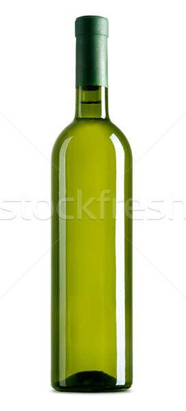 Garrafa de vinho garrafa de vinho branco branco vidro beber videira Foto stock © Alexstar