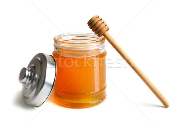 Méz edény étel természet egészség szín Stock fotó © Alexstar