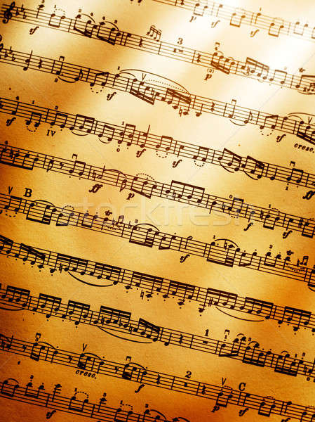 Music background Stock photo © Alexstar