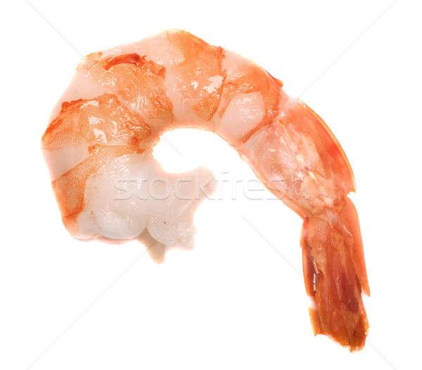 Cauda branco peixe alimentação macro saudável Foto stock © Alexstar