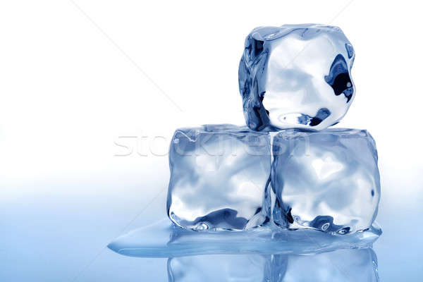 Ice cubes Stock photo © Alexstar
