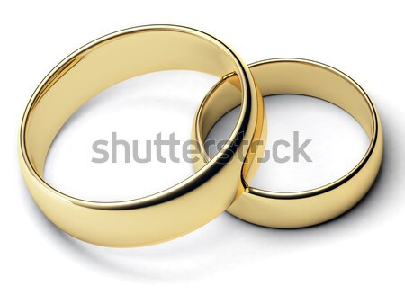 Two rings Stock photo © Alexstar