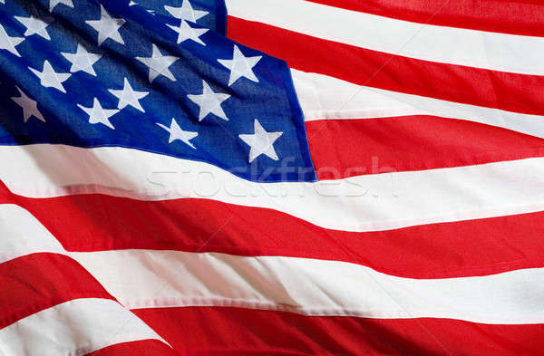 American Flag Stock photo © Alexstar