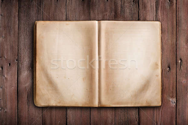 Old book Stock photo © Alexstar